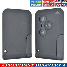 UK Key Shell 3 Card Key Remote Car Replacement For Renault Megane Scenic 2 Clio