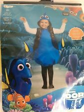 Disguise Disney Finding Dory Girls Fish Costume Fits Girl Size 4 to 6X