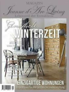Jeanne d' Arc Living Magazin 1 / 2021 Shabby Chic Vintage Industrie Style