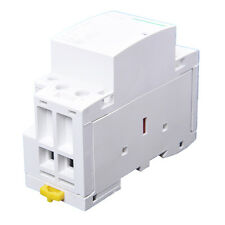 220-240V AC coil 35mm DIN rail support 2 poles 40A contactor X8J6