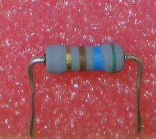 24 pcs 560 ohm 1W metal oxide resistor. preformed leads