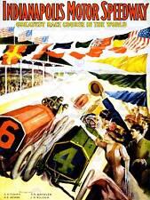 RACE INDIANAPOLIS MOTOR Speedway gioco Auto Bandiera INDY 500 nuovi art print poster cc4268