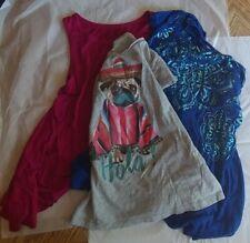 LOT of 3 Girls Shirts sizes 10-12, Justice, Art Class, Aeropostale
