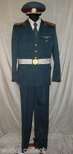 FULL SET Original Communist Uniform Bulgarian Milicia Police colonel, Soviet era