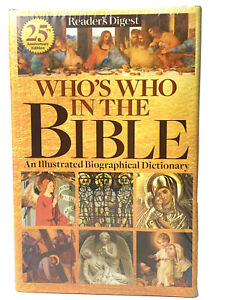 Reader's Digest  Who's Who In the Bible  25th Anniversary Edition Hardback