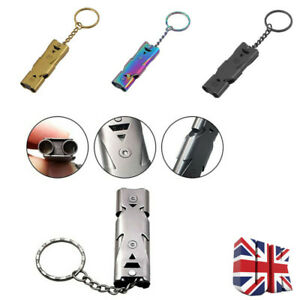 Emergency Survival Whistle Double Tube 150db For Outdoor Sport Camping Hiking