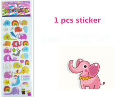 Handmade Kidsparty Gift Elephant Pattern Scrapbooking Paper Crafts Stickers Uk