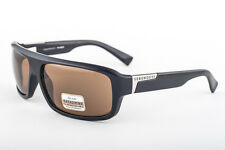 Serengeti Matteo Shiny Black / Drivers Polarized Sunglasses 7370