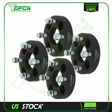 "4X black wheel spacers 4x100 12x1.5 studs 1""  for Toyota Prius Chevrolet Cobalt"