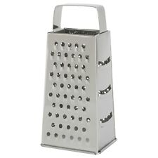 IKEA IDEALISK Cheese Vegetable Grater Stainless Steel Four Shape Dishwasher Safe