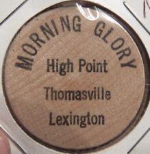 Morning Glory High Point Thomasville Lexington, NC Wooden Nickel North Carolina