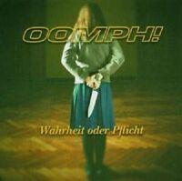 """OOMPH """"WAHRHEIT ODER PFLICHT"""" CD NEW+"""