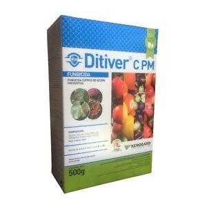 Fungicida Cobre de Acción Preventiva (Mildiu, Alternaria,...) DITIVER C PM 500g