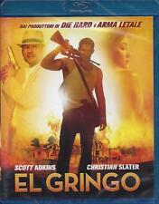 Blu Ray disc **EL GRINGO** con Christian Slater nuovo sigillato 2012