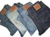Mens LEVIS 507 Bootcut Denim Jeans W30 W31 W32 W33 W34 W36