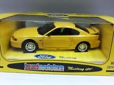 WOW EXTREMELY RARE Ford Mustang GT 1994 5.0L V8 Coupe Yellow 1:18 Jouef-Auto Art
