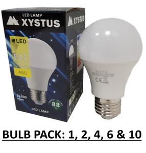 E27 EDISON SCREW LED LIGHT BULB WARM & COOL 7W & 10W UK