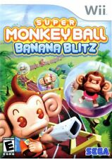 Super Monkey Ball: Banana Blitz (2006) Brand New Factory Sealed USA Nintendo Wii