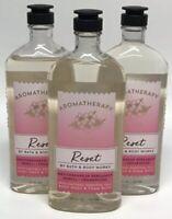 x3 Bath & Body Works Aromatherapy Reset Bergamot Neroli Body Wash