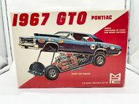 MPC 1967 GTO Original Issue 3 in 1 Stock Slot Promo Display Nice 1/25th BOX ONLY