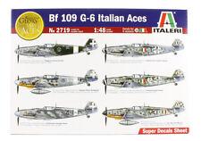 ITALERI 1:48 KIT AEREO BF 109 G-6 ITALIAN ACES ART 2719
