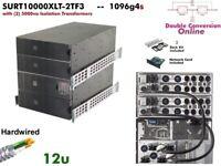 1096g4s~ APC Smart Online 10000va UPS 208/240+120v SURT10000XLT-2TF3  #NewBatts