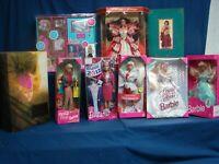 Huge Lot Barbie  New In Box Holiday Dream Princess Royal Invitation wardrobe