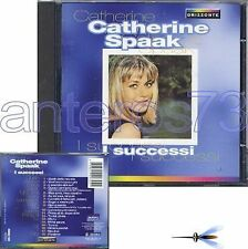 "CATHERINE SPAAK ""I SUCCESSI"" RARO CD 18 BRANI 1998"