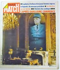 Paris Match N° 1307 - 25 mai 1974 - L'aprés gaullisme commence