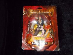 Disney's Pirates of the Caribbean Ultimate Jack Sparrow moving action figure box