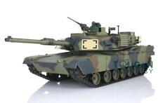 Us Stock Abrams Rc Tank 3918 Henglong 1/16 6.0 Plastic W/ 360° Barrel Recoil
