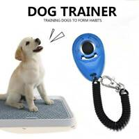 ABS Pet Dog Training Clicker Cat Puppy Button Click Trainer Obedience Aid Wrist