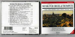 Music for Organ & Trumpet - Portugall, Lewark - Clarke, Bach, Telemann etc CD
