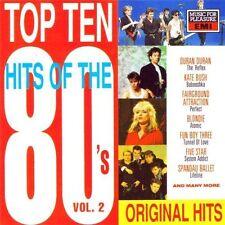 Top Ten Hits of the 80's 2 Duran Duran, Fairground Attraction, Kate Bush,.. [CD]