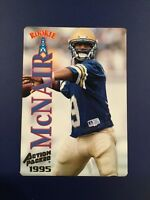 1995 Action Packed -36- STEVE MCNAIR Rookie RC Houston Oilers   !