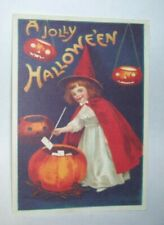 Hallmark Cards A Jolly Halloween Postcard