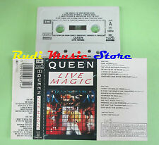 MC QUEEN Live magic 1986 italy EMI 2406754 Freddie Mercury May no cd lp dvd vhs