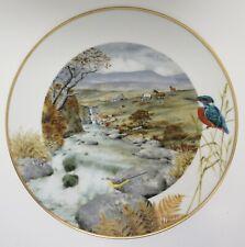 "Peter Barrett Franklin Mint Porcelain 1979 Plate ""A Secluded Stream in November"""