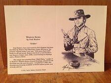 CLINT EASTWOOD Art Print Artwork High Plains Drifter Western Realism Signed