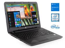 """Hp 250 G5 15.6"""" HD Laptop, i5-6200U, 4GB RAM, 256GB SSD, DVDRW, Windows 10 Pro"""
