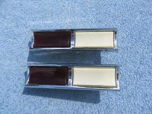 1971-1976 CADILLAC DEVILLE FLEETWOOD ELDORADO DOOR PANEL COURTESY LIGHT PAIR