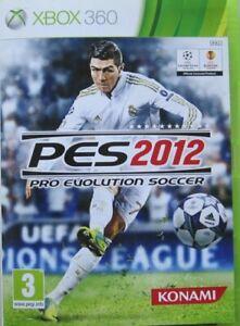 XBOX 360 - PES 2012 - PRO EVOLUTION SOCCER -