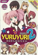 DVD Yuru yuri Season 2 ( Vol.1-12 End ) with Eng SUB + Free Shipping (A06)