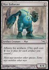 4x MYR ENFORCER Mirrodins MTG Magic Artefakt Common 4 x4 Karte Karten