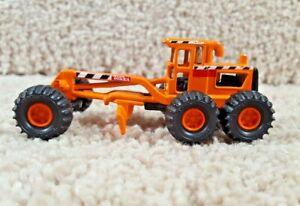 1998 Maisto Hasbro 1:64 Diecast Tonka Construction Orange Road Grader #1230 B
