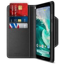 For Google Pixel 3 Case Wallet Folio Protective Flip Cover CardSlot Magnet Black