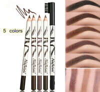 Waterproof MENOW Professional Eyebrow Pencil With Brush *DARK COFFEE/ BROWN NEW