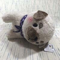 """Mameshiba San Kyodai Bulldog 16"""" Dog Plush Brand New Amuse Collection"""