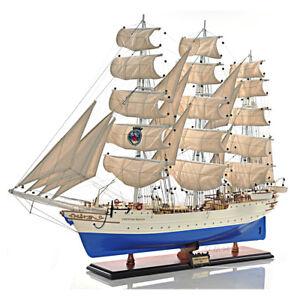 """Windjammer Christian Radich Tall Training Ship Model 37"""" Wooden Built Assembled"""