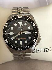 Mens Seiko Scuba Diver Automatic 200m Watch 7S26-0020 SKX007K2 Full Set VGC FWO